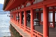 厳島神社の廻廊
