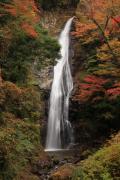 紅葉の原不動滝2