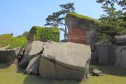 友ヶ島第二砲台の裏側
