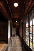 斜陽館の廊下