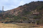 尾去沢鉱山跡全景