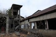 尾去沢鉱山跡の廃屋