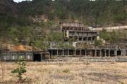 尾去沢鉱山の選鉱場跡
