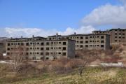 松尾鉱山のアパート