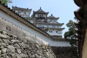 入り組んだ白い迷宮、姫路城