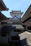 内側から見た姫路城小天守