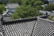姫路城の屋根瓦